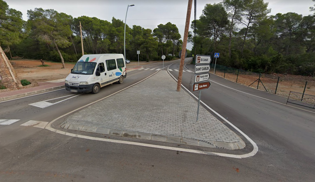 Atropellado un ciclista en las carreteras de Ibiza