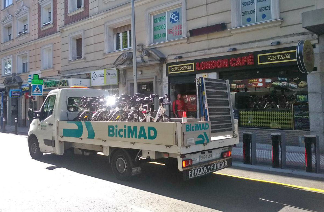 BiciMad vuelte el día 22 y será obligatorio usar guantes