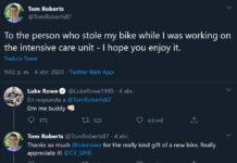 Ciclista-del-Ineos-regala-una-bicicleta-a-un-médico-al-que-se-la-habían-robado-trabajando-en-la-UCI