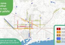 Contaminación y virus de un plumazo: Barcelona creará 21 km de vías ciclistas y 12 km peatonales