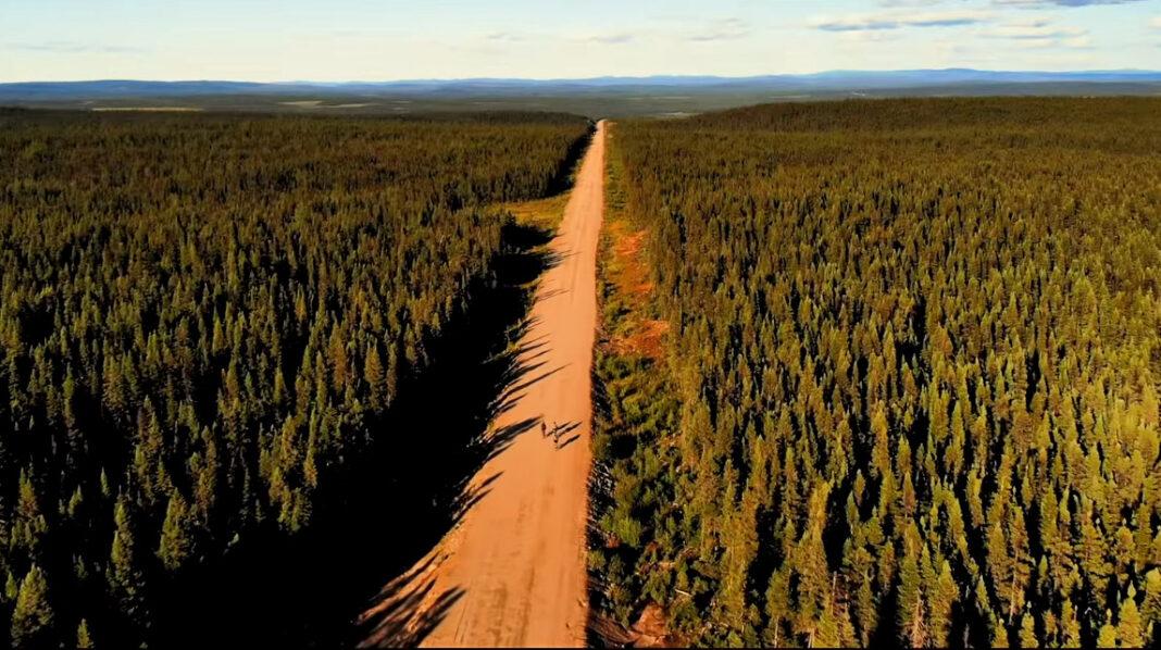 Cuarentena ciclista día #37: Outskirts 2: The Big Land - 2000 Km de Gravel por Canadá