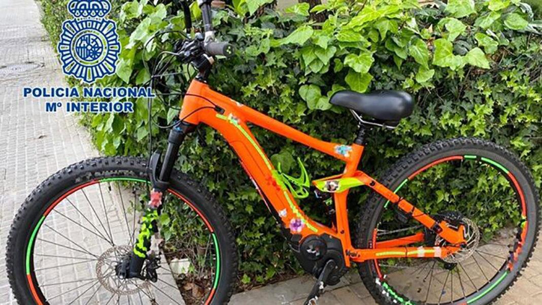 Detenido por robar una bicicleta eléctrica en Córdoba