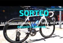 El Movistar Team sortea la bicicleta Canyon Ultimate CF SLX de Alejandro Valverde