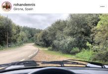 La imagen subida por el ciclista Rohan Dennis a su cuenta de Instagram