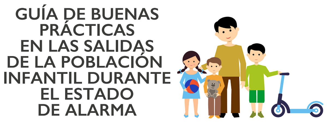Guía del Gobierno para los niños y adultos que salgan el Domingo a pasear, jugar o montar en bicicleta