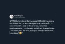 """Pedro Delgado sobre Illa: """"¿Tal vez es para dar más trabajo a nuestros saturados hospitales?"""""""
