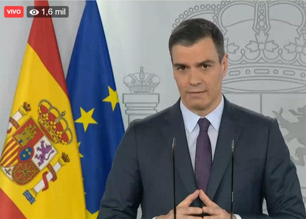 acaba de anunciar que si los datos sobre los contagios de la pandemia siguen disminuyendo en los próximos días, los españoles podrán salir a realizar deporte a la vía publica