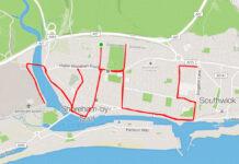 Un-ciclista-da-las-gracias-al-Servicio-Nacional-de-Salud-con-el-mapa-de-Strava-de-su-ruta