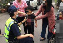 Vídeo-Hacen-el-test-de-alcoholemia-a-un-niño-de-5-años-que-chocó-con-su-bicicleta-un-Tesla-aparcado