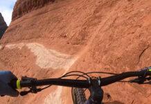 """Vídeo: Hans Rey y el peligroso sendero de mountain bike """"White Line"""" de Sedona"""