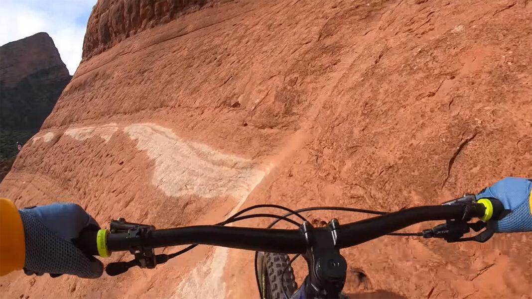 Vídeo: Hans Rey y el peligroso sendero de mountain bike