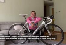 Vídeo: La bicicleta que subastó Contador fue a manos de un jugador de fútbol profesional