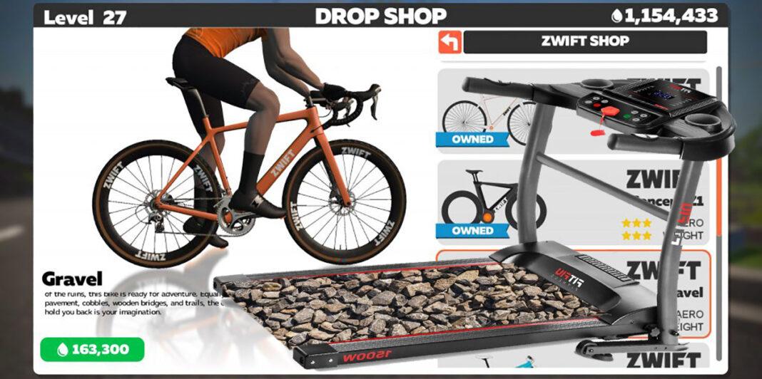 rodillo-entrenamiento-gravel-superficie-rugosa-zwift-mountain-bike-bicicleta