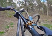 Adrenalínico vídeo de Cedric Gracia en su primer día en bici tras el confinamiento