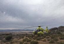 Ciclista evacuado en helicóptero en Salamanca tras una caída en bicicleta de montaña