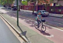 Denunciada tras caerse de la bicicleta y cuadruplicar la tasa de alcohol permitida