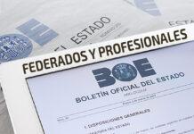 Deportistas federados y profesionales. El último BOE aclara la situación