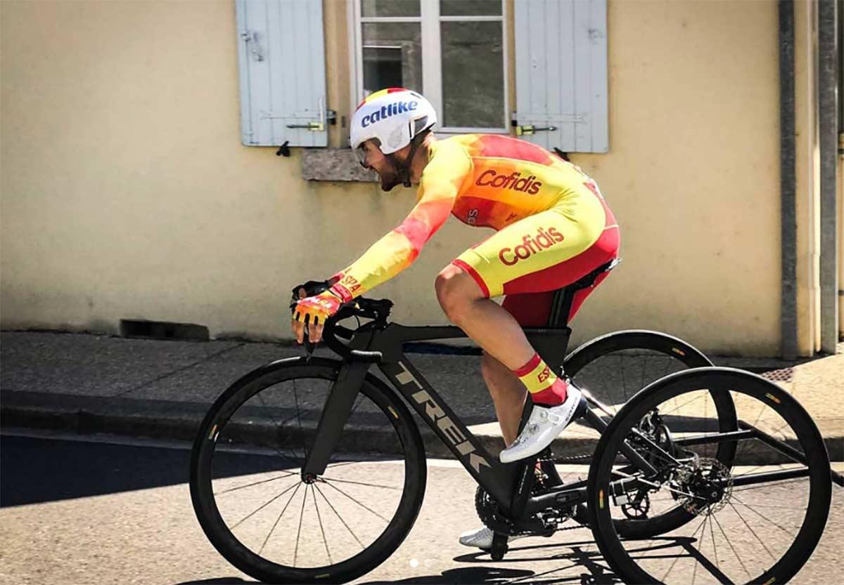 El ciclista paralímpico Joan Reinoso atropellado por un coche en Mallorca
