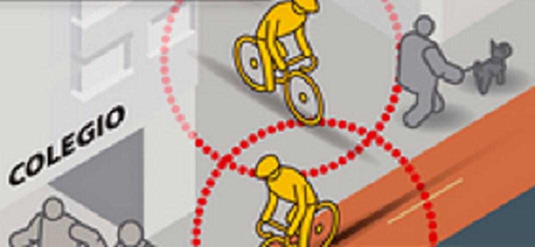 La DGT aclara la polémica entre peatones y ciclistas urbanos