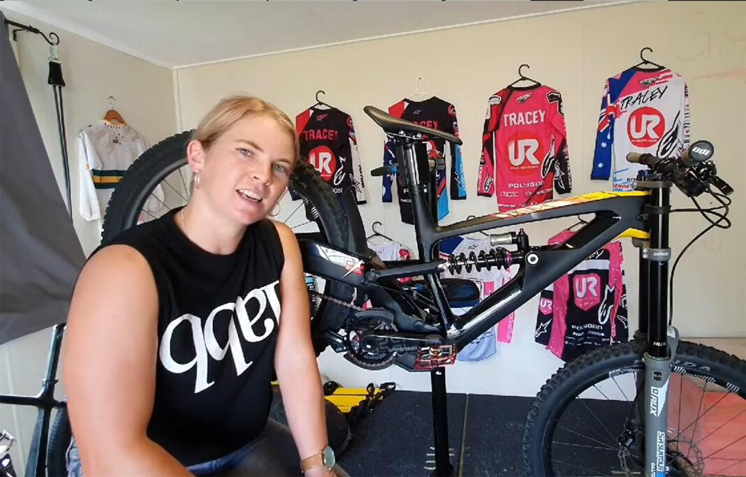 Las bicicletas de la Copa del Mundo no son como las del resto de los mortales. Tracey Hannah nos muestra la suya