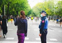 Las calles peatonalizadas de Madrid prohibidas para bicicletas y patinetes