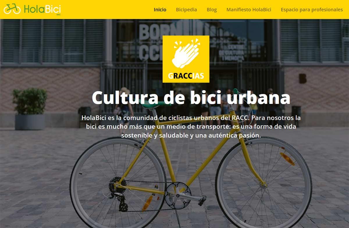 ¿Qué hay detrás de la web de bicicletas eléctricas creada por el RACC, el Real Automóvil Club de Cataluña?