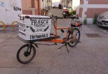 Se busca esta bicicleta de carga robada en Madrid!! ¿La has visto