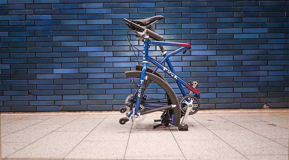 Una bicicleta plegable con ruedas plegables, ¿quién da más?,