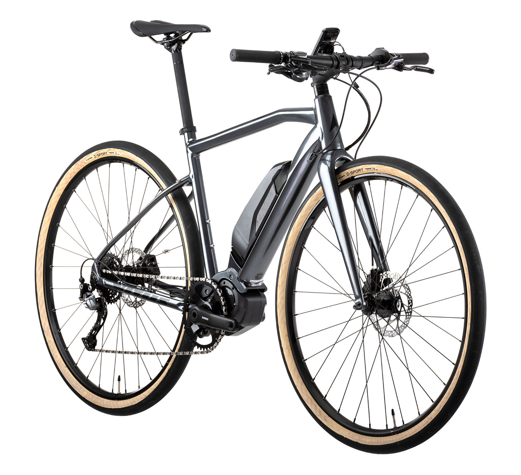 Con 17,3 kilogramos de peso, esta bicicleta Vitus Mach E es sin duda una de las bicicletas urbanas eléctricas más ligeras del mundo.