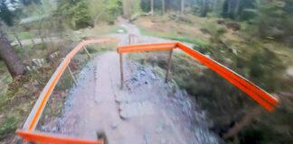 Vídeo-Otro-desconfinamiento-espectacular.-Caluori-en-el-sendero-detrás-de-su-casa