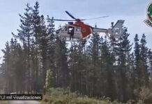 Vídeo: Difícil rescate de la Ertzaintza a un ciclista de montaña herido en Mallabia