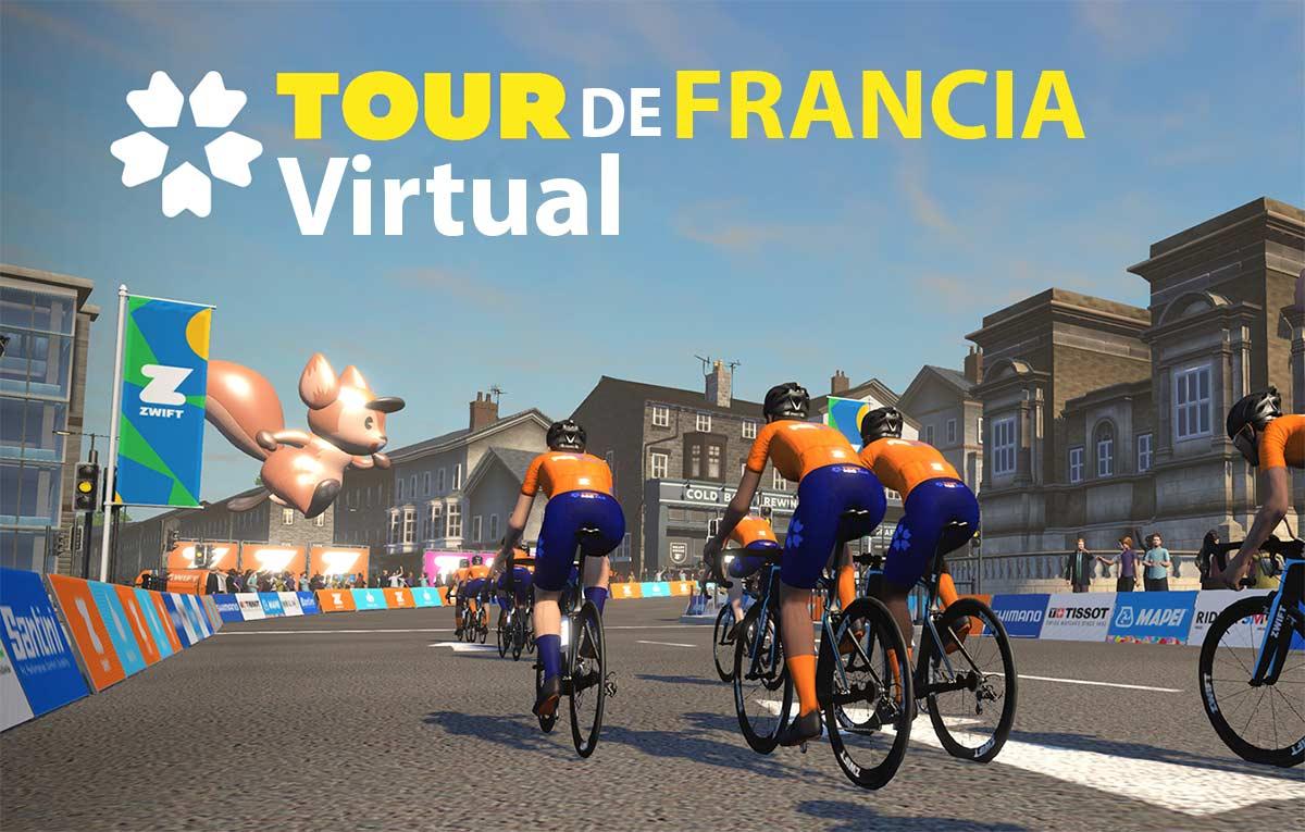 ASO y Zwift crean el primer Tour de Francia virtual televisado en 130 países
