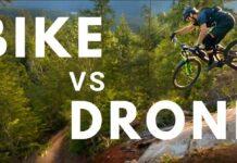 ¡Alucinante! Así sigue un piloto de drones de carreras por el bosque al ciclista Remy Metailler