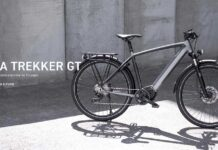 Así es la primera bicicleta eléctrica de Triumph, la Trekker GT