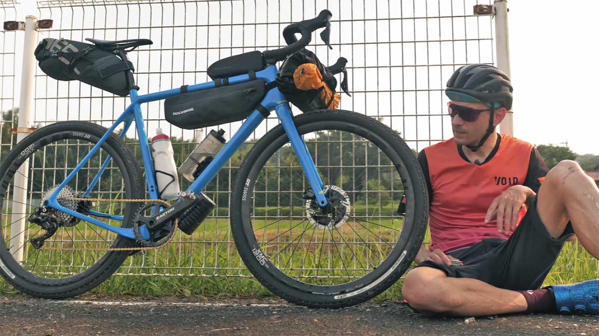 Es posible comprar un kit completo de bolsas de Bikepacking por 100€