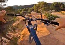Espectacular vídeo de Nico Vink estrenando las nuevas bajadas de La Fenasosa Bike Park