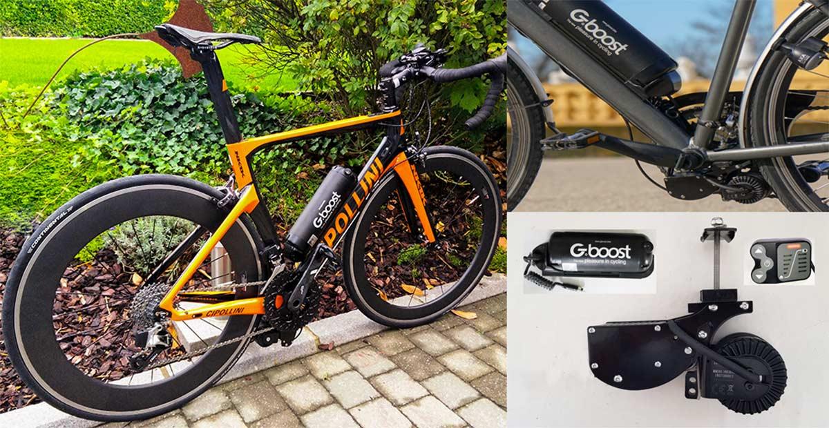 Gboost, el kit sencillo para transformar a eléctrica tu bicicleta