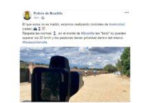 La Policía coloca radares para multar a los ciclistas de montaña en un pueblo de Madrid