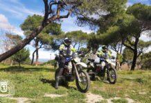 La Policía de Madrid tras los ciclistas que monten por los senderos de la Casa de Campo