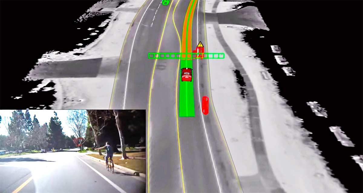 Los nuevos coches autónomos de Uber adivinarán los movimientos de ciclistas, peatones y coches