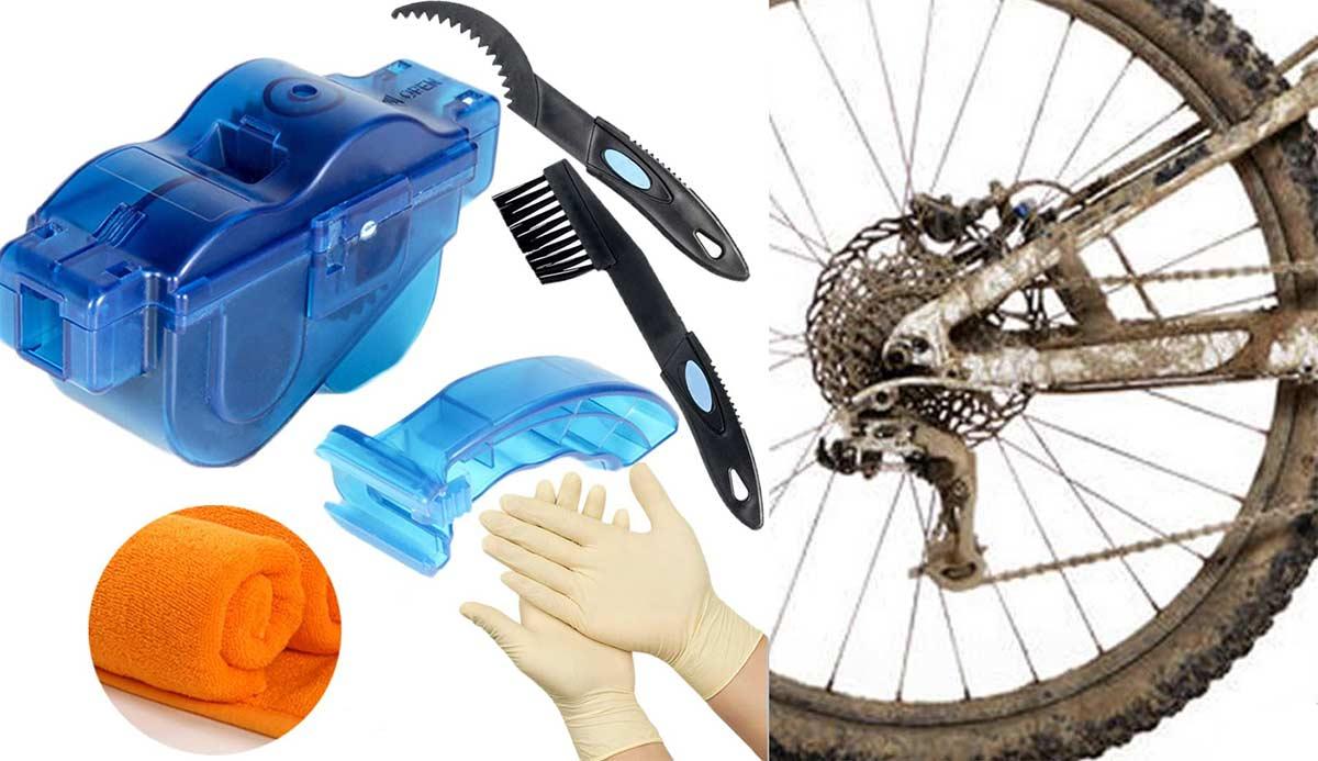 ¿Un kit de limpieza de cadena de bici barato por menos de 10€?