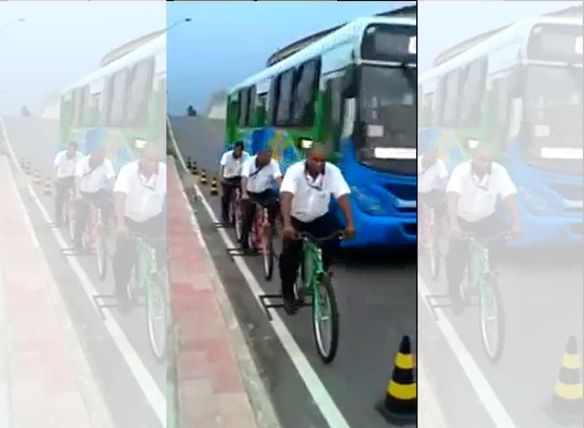 Vídeo: #1m50 - Poniendo a los conductores de autobuses en la piel de los ciclistas