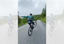 Vídeo: ¿El caballito en bici más largo de Peter Sagan a una mano?