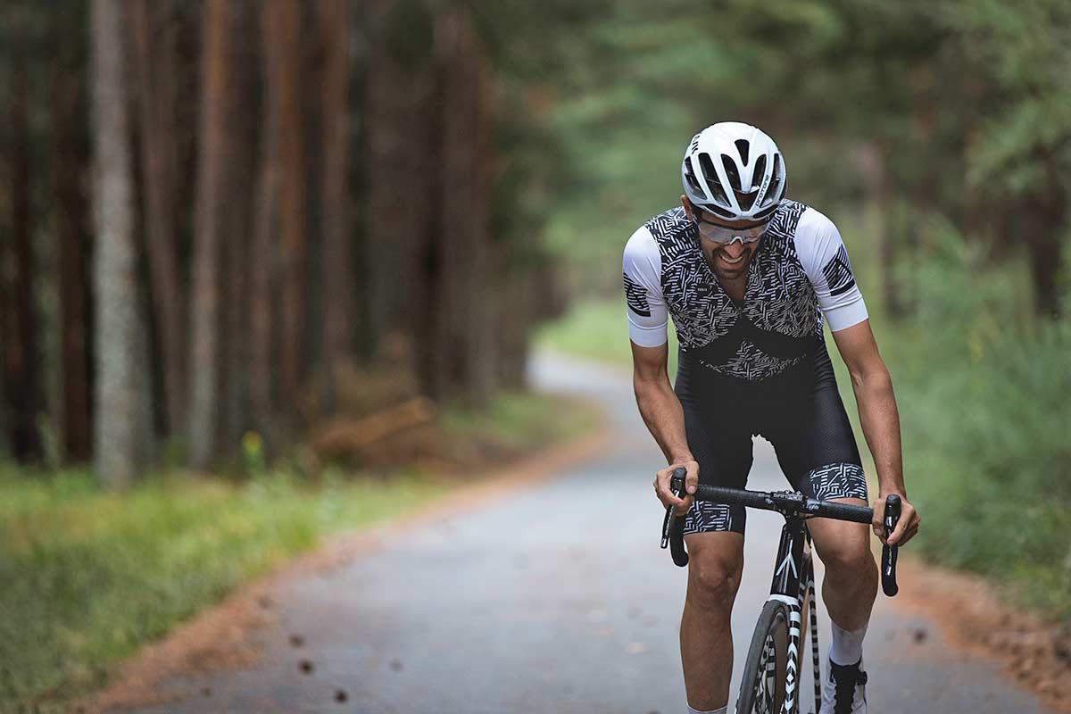Contador subió 78 veces con su bicicleta el tramo más duro del Puerto de Navalpelegrín, con máximas del 20% de desnivel