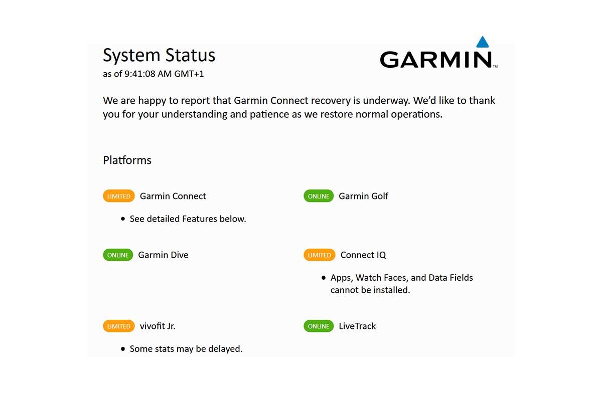 La pesadilla de Garmin no ha terminado. Podría ser sancionada por la Ley de EEUU