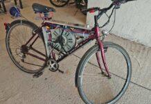 Una-bicicleta-eléctrica-con-el-motor-de-una-lavadora-Sí-existe-The-Spin-Cycle