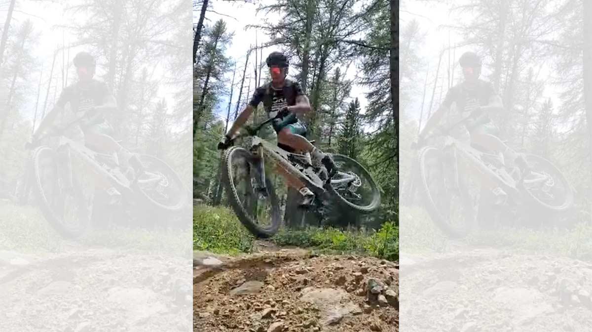 Vídeo: Así se prepara la Milan-San Remo Peter Sagan, haciendo descenso en bicicleta de montaña