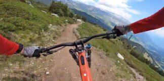 Vídeo: El sendero interminable de Laax. Nuevo Bla Bla Run de Claudio Caluori