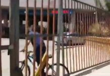 Vídeo: Intenta saltarse la frontera en bicicleta y es perseguido