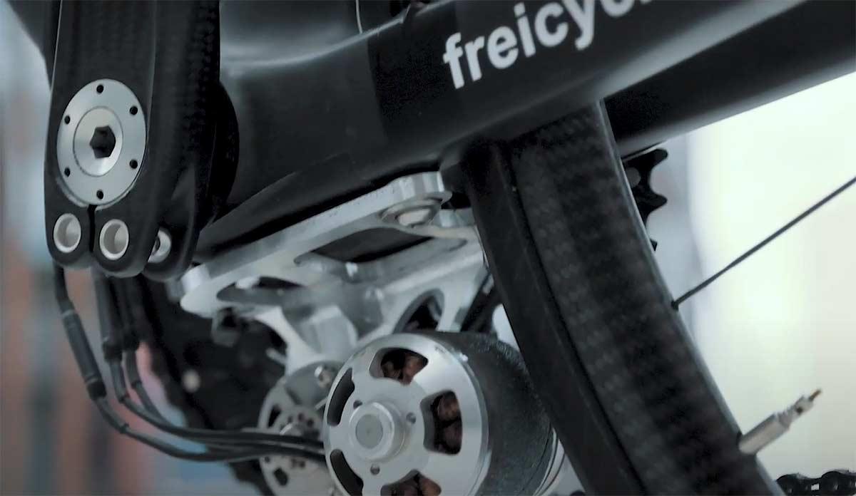 6,8 kg. Así es la bicicleta eléctrica más ligera del mundo - Freicycle